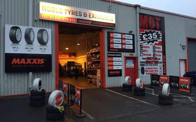 Noble Tyres & Exhausts 1st Choice for Tyres, Exhausts, Brakes, MOT and Servicing in Aberdare